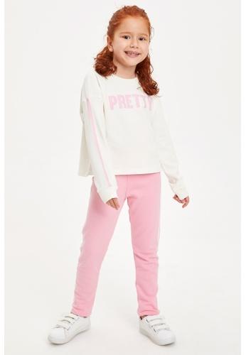 DeFacto beige Girl Knitted Set 1FBFAKA80A5BBAGS_1