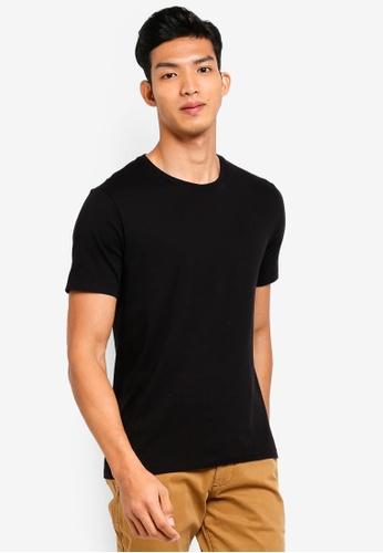 GAP black Essential Crewneck T-Shirt 99C18AA4349881GS_1