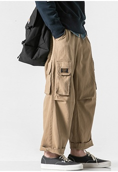 9eed4108a006 58% OFF GONDRY GONDRY Wide Leg Pants in Khaki with side pockets HK$  1,199.00 NOW HK$ 499.00 Sizes S M L XL