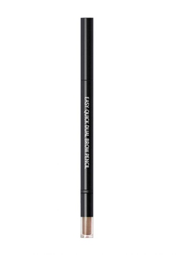 W.Lab brown Easy Quick Dual Brow Pencil 2. Light Brown WL257BE78BZLSG_1