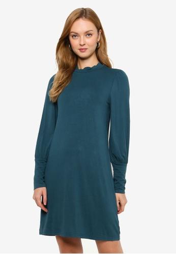 JACQUELINE DE YONG green Giovani Long Sleeve Dress 1851EAA893D828GS_1
