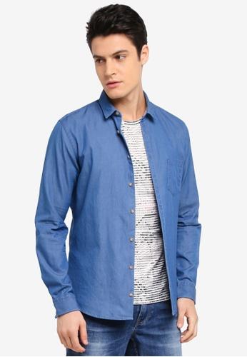 BOSS blue Erum Shirt - Boss Casual 33EFEAA559AD12GS_1