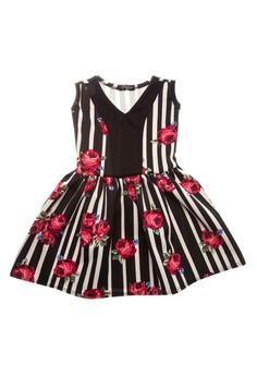 Mara V-Neck Fit & Flare Dress