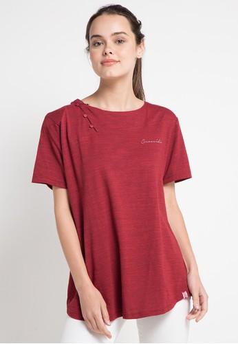 ... Nataria Brand Blouse Wanita LA 78049 - Hitam. Source · Women Casual Button Printed Blouse Source · Jual Cressida Ladies Big Size T Shirt Original ZALORA