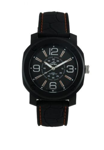 UniSilver TIME black Wild Ryder Analog Watch KW1884-1001 54254AC0747B6FGS_1