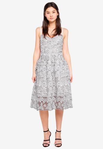 Dorothy Perkins black Mono Lace Prom Dress CA1D1AA2C60347GS_1