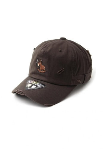 M-Wanted brown M. I Am Waiting Series Baseball Cap MW173AC76QFBSG_1