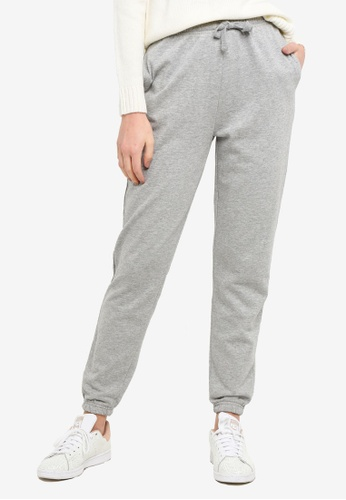 OVS grey Grey Spongy Terry Joggers 4BBA0AA496DDCEGS_1