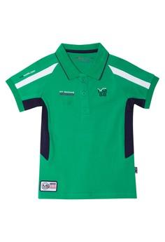 T-Shirt W/ Collar Plain