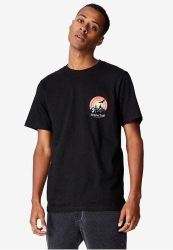 Cotton On black Tbar Souvenir T-Shirt D01BDAA9CFDAC6GS_1