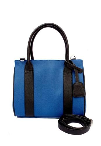 Louiebelle Collection blue Amara Shoulder Bag LO122AC77HBUPH_1