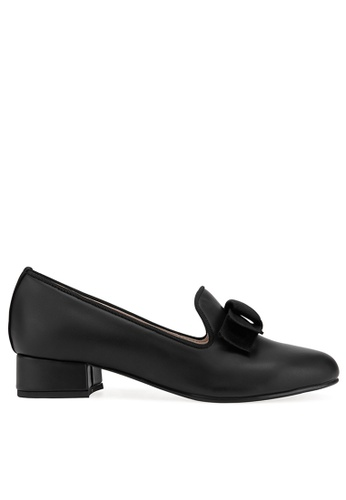 SPUR black KNOTS BOW LOAFER 80E6BSHF6BECC8GS_1