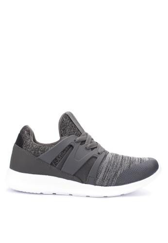 World Balance grey Fresh Sneakers 674BFSH034465AGS_1