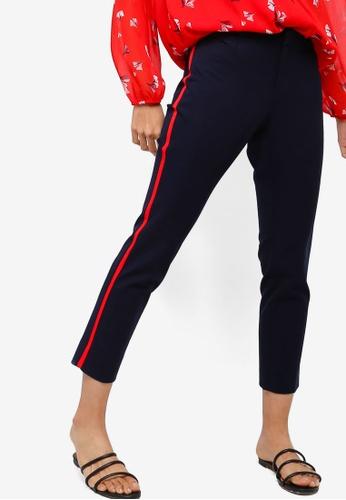 Banana Republic blue and navy Sloan Long Pants 4F86BAA721EE30GS_1