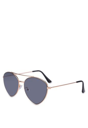 Rubi gold Olivia Fashion Aviator Sunglasses 56814GLC770511GS_1