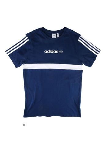 ADIDAS blue originals itasca - tee BE6E8KA7DE68AEGS_1