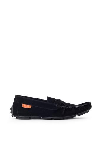 Navara black Aland Black Driving Loafers 73A69SH30FB80EGS_1