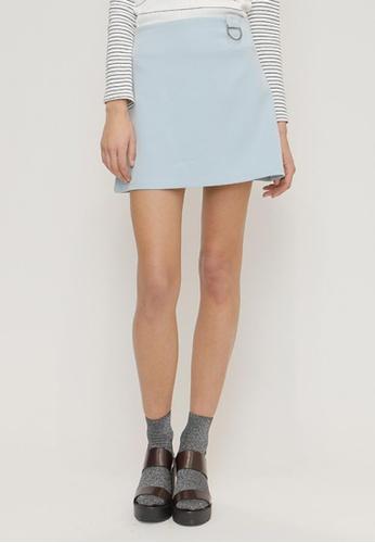 OUTSTANDING ORDINARY blue Mybell Skirt OU203AA38NYNSG_1
