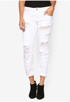Buy WHITE JEANS Online | ZALORA Singapore