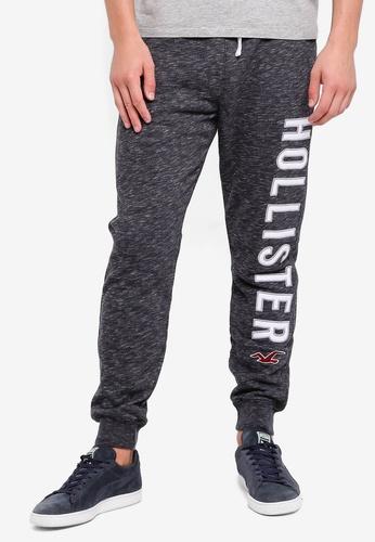 Hollister 黑色 Skinny Logo Sweatpants E7D52AA476D4EAGS_1