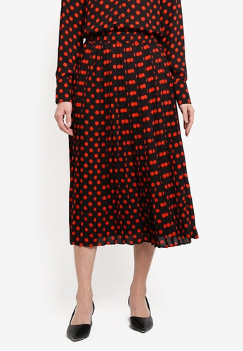 c2668f70d27c Buy WAREHOUSE Spot Print Skirt Online on ZALORA Singapore