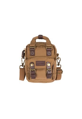 Doughnut brown Macaroon Tiny Shoulder Bag AAB3EACB8D1C5FGS_1