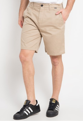 hurley brown Icon Chino 19In Walk Short 30628AA40DC72DGS_1