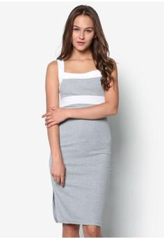 Ms. Grey Figure Fit Dress