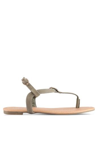 Rubi green Everyday Aubrey Metal Toe Post Sandals 24965SHC2010E2GS_1