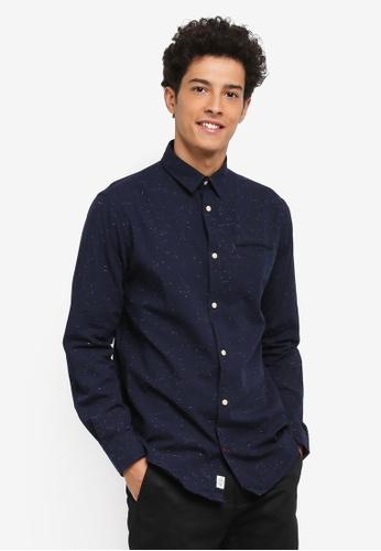 Jack & Jones blue Taylor Shirt 181E8AACB4BF1DGS_1