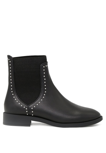 London Rag 黑色 Beverly短靴 SH1686 C56E7SH38128EFGS_1