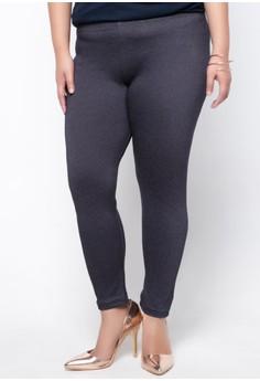 Solid-toned Leggings