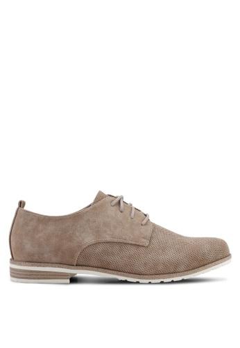 BETSY 褐色 Jasmine 牛津鞋 8D9F1SH01BCE73GS_1