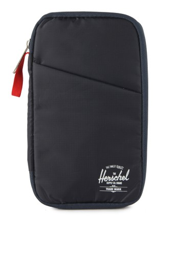 Herschel multi and navy Travel Wallet 64DE2AC9AEA6E5GS_1