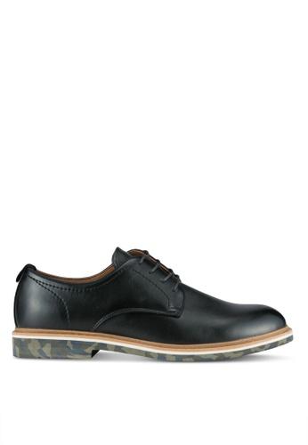 Call It Spring black Sigelac Derby Shoes CA512SH0SFDLMY_1