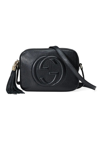 Gucci black Gucci Soho Small Disco Shoulder Bag in Black 95184ACCC41178GS_1