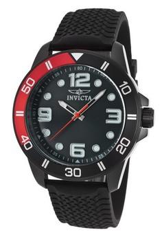 Pro Diver Men 45mm Case Polyurethane Strap Dial Quartz Watch 21852
