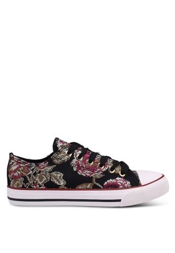 Rubi 黑色 Jodi Low Rise Sneakers C9B75SH8072A01GS_1