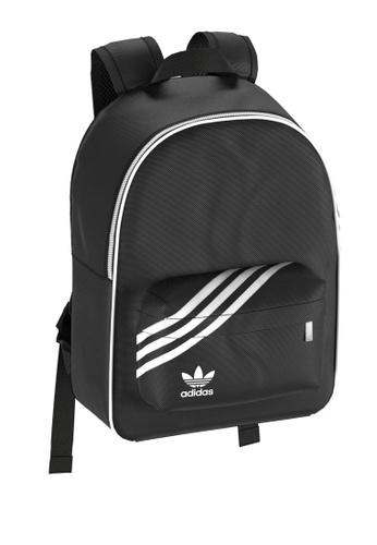 ADIDAS black nylon women backpack 2F410ACAA6F9A5GS_1