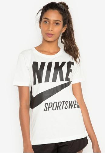 Nike white Women's Nike Sportswear T-Shirt NI126AA0S29YMY_1