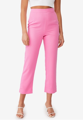 Supre pink Stevie Tailored Pants DC40CAAF4399C1GS_1