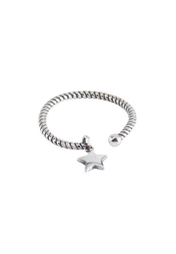 A-Excellence silver Premium S925 Sliver Star Ring 7A00EACB1D18DEGS_1