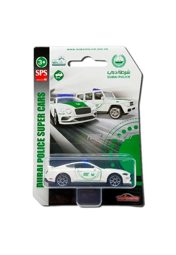 Majorette white and green Majorette Dubai Police Supercars - Ford Mustang GT 05CC6THC2C77AFGS_1