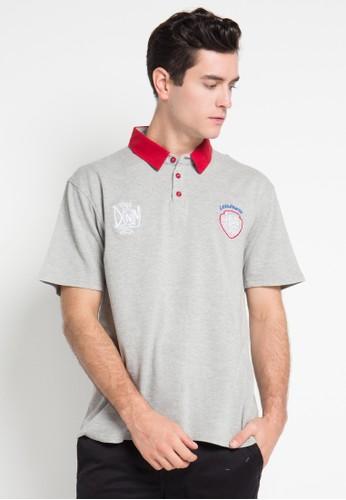 Lois Jeans grey Short Sleeve T-Shirt LO391AA0WP04ID_1