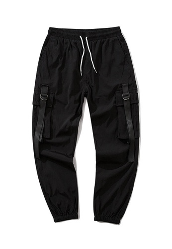 Twenty Eight Shoes Dark Tapered Cargo Pants QT2020 5E9EEAA2E90748GS_1