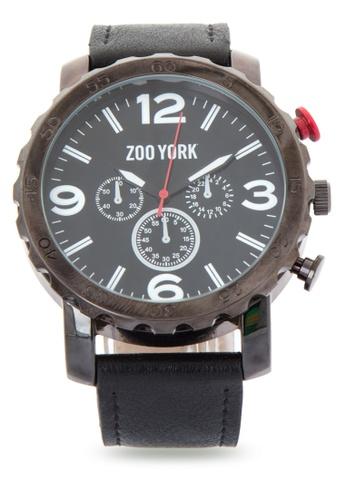 Zoo York black Analog Watch ZO541AC0IT1FPH_1