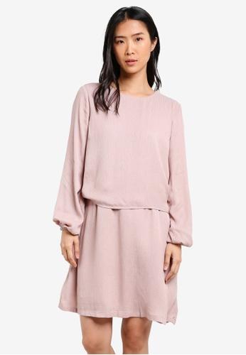 Y.A.S pink Holly Dress YA631AA0SE4WMY_1