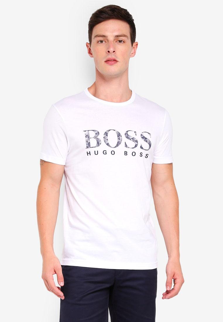 Graphic White Athleisure Boss 4 BOSS Tee rw8fzpUXqr