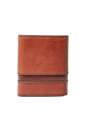 FOSSIL brown Easton Wallet SML1436914 9AD9CACBCA1B16GS_1