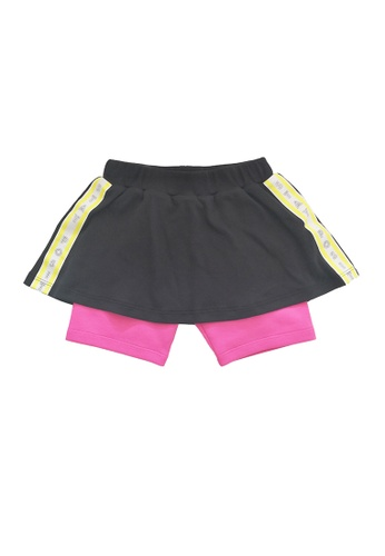 Vauva black Vauva Kooala Girls Sporty Skirt - Black 6AF1AKA8EE0D71GS_1